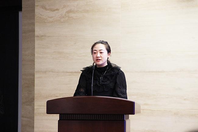 海河金融加入中国金融协会互联网金融委员会会长苏丹发言
