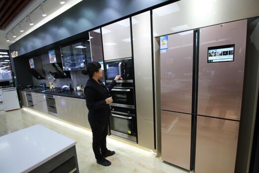 海尔成套厨电将装进2700家整体厨房体验店