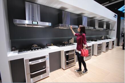 海尔厨电前5月连续行业5倍增速增长