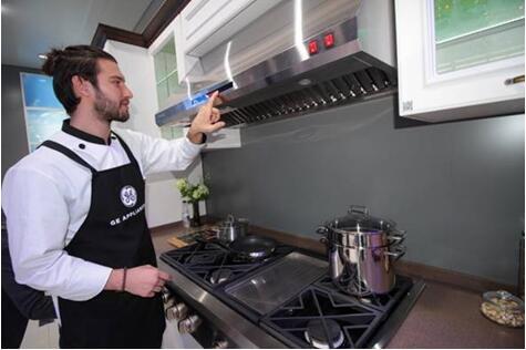 美国GE家电带来高端厨电9件套 件件黑科技