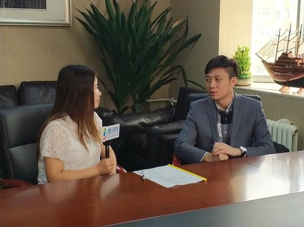 腾讯网教育频道精品课专访翡翠教育集团联合创始人庄严