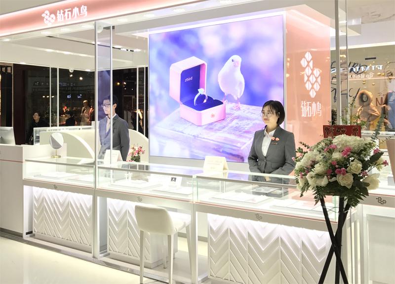 钻石小鸟双店新开业 以此刻闪耀妆点新年新气象