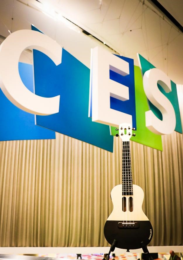 视感科技携Populele参加2018CES国际消费电子展