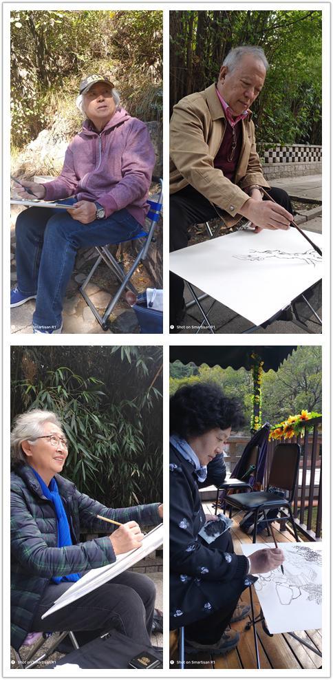 中国水墨画院2018崂山写生计划正式启动