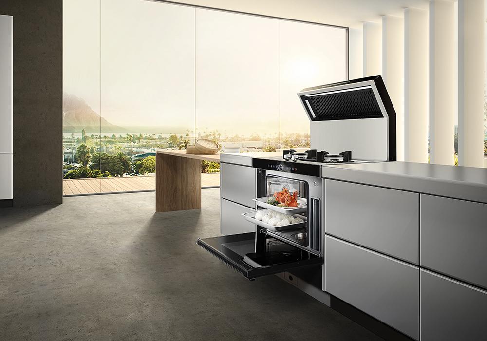 夜明如昼,火星人携新品打造全方位开放式厨房梦想