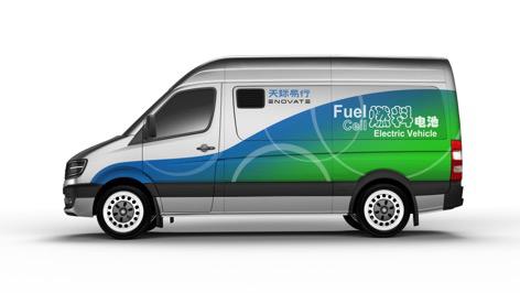 (天际汽车创新性地将燃料电池技术应用于商业化移动充电系统中,打造出图片