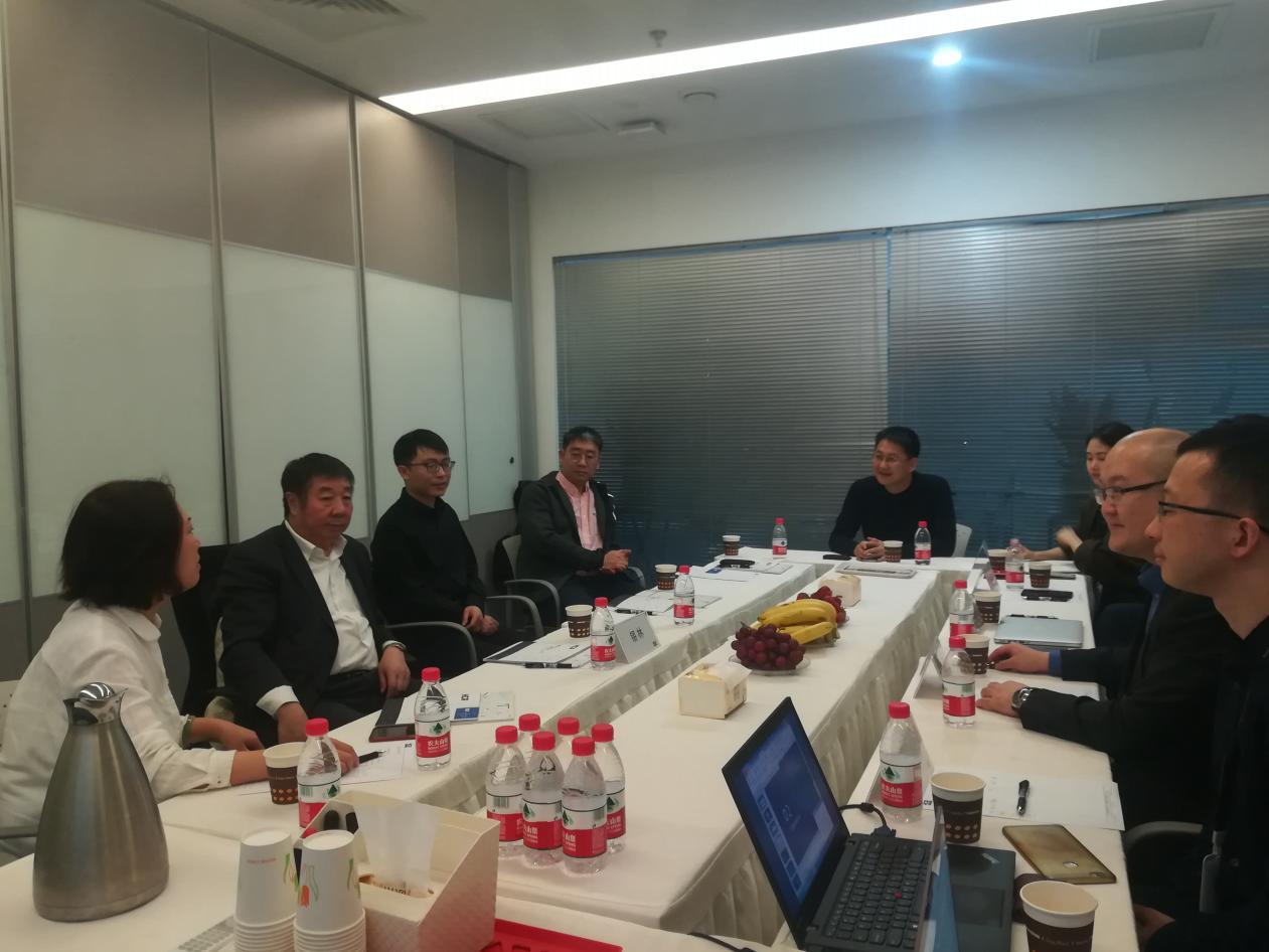 两会期间内蒙古电影集团领导来访HCR进行项目洽谈