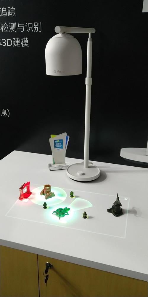 插图三:Pico Air Light荣获CES Asia 2019创新奖殊荣,现场展示_副本.jpg