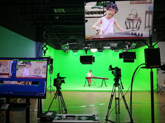 共享摄视频基地与短视频+直播融媒中心在西安落成