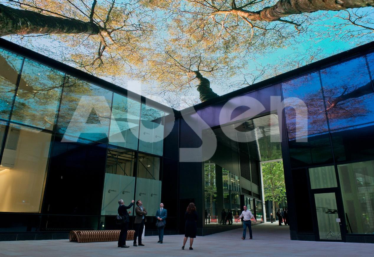 碧桂园潼湖小镇LED显示屏CAVE影院,艾比森又一艺术杰作