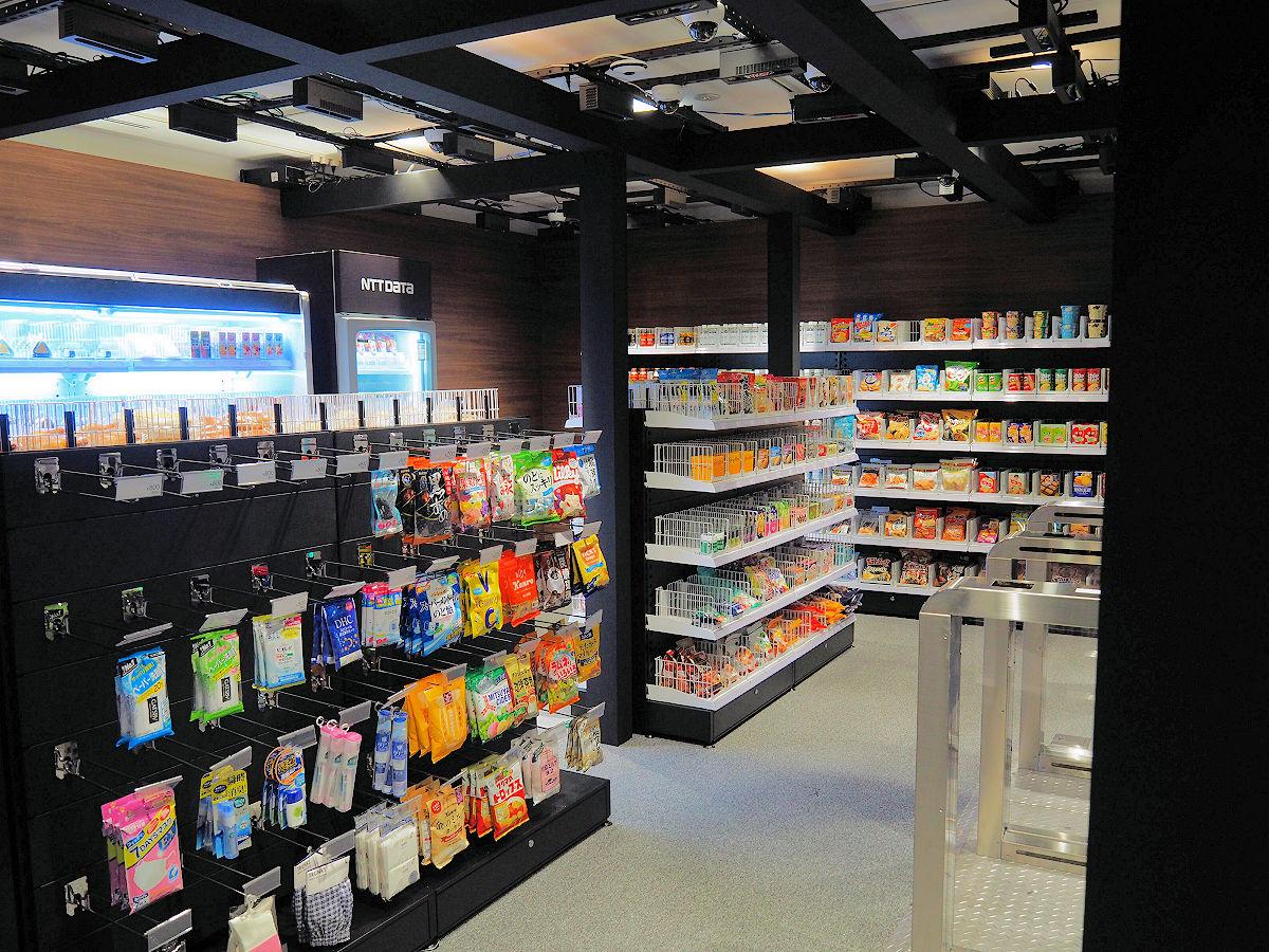 NTT数据开始推出无人收银数字店铺的开店服务