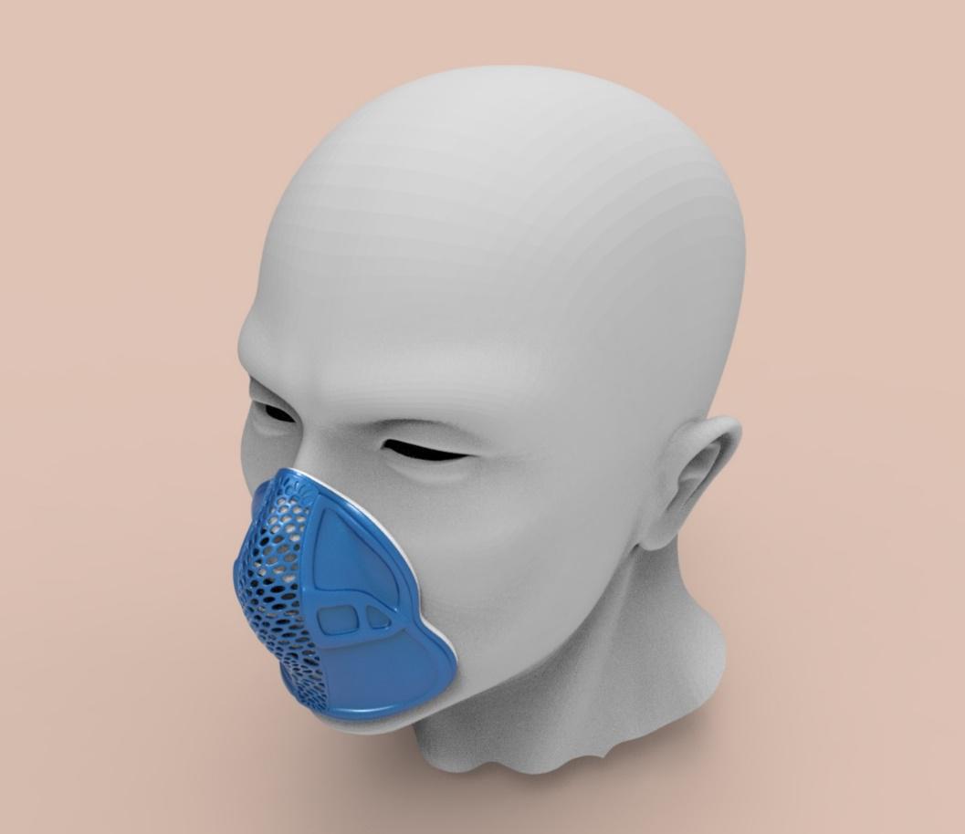 3D打印专委会、安世亚太教您3D打印口罩架DIY
