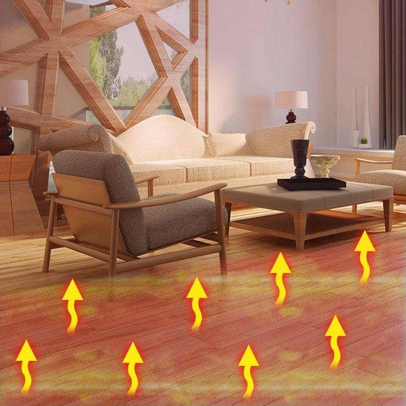 取暖新科技!奔腾石墨烯发热地板走向大众生活