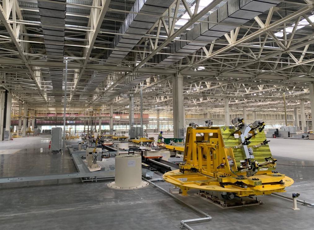 柔性化门盖生产线落地,奥特博格携手宝能集团打造汽车智造新势力465848