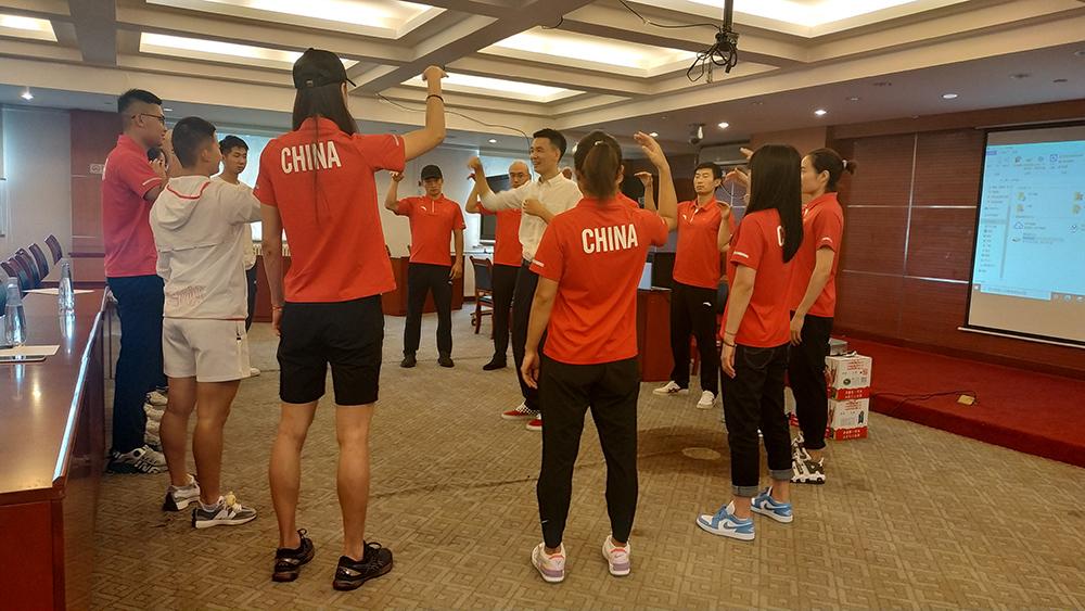 KDC知行华夏受邀为冬奥会滑雪国家队开展