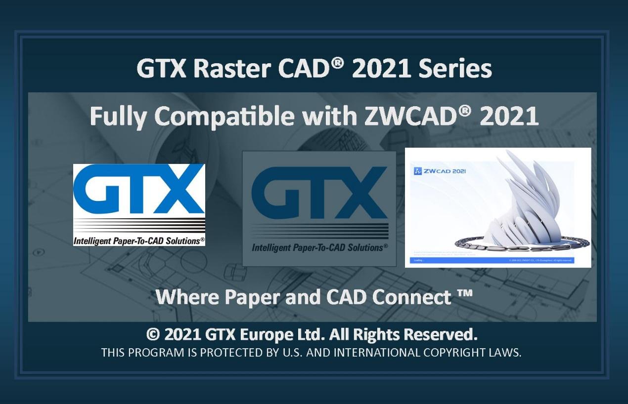 中望软件携手GTXRasterCAD,帮助用户大幅提升图纸修复效率