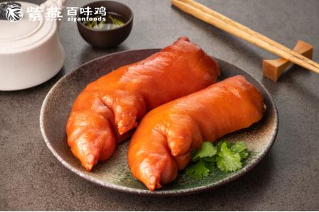 肉食爱好者强推!max级别的紫燕百味鸡猪蹄系列,了解一下