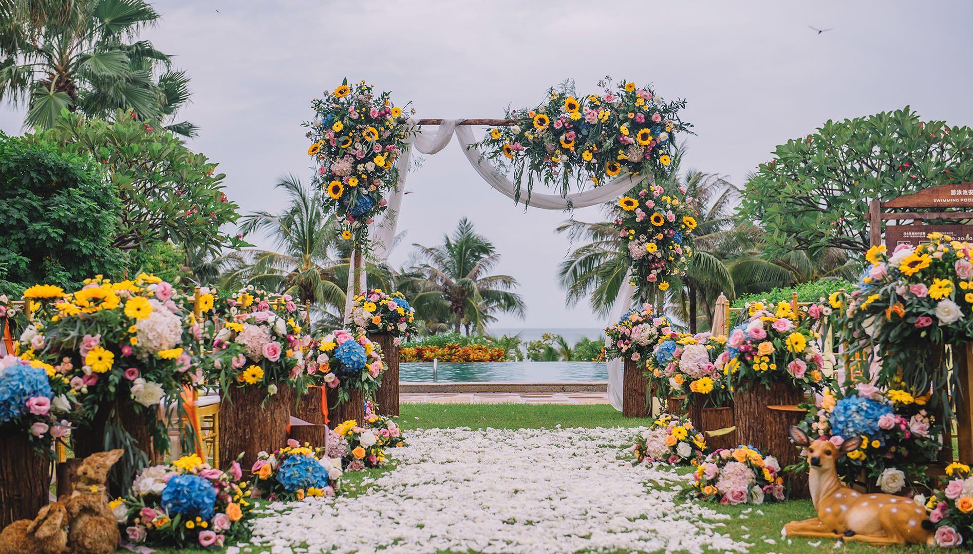 三亚索菲特法式海岛婚礼,浪漫定义为爱珍藏的每个时刻