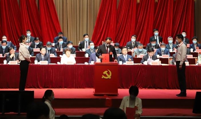 中共镇江市第八次代表大会胜利闭幕